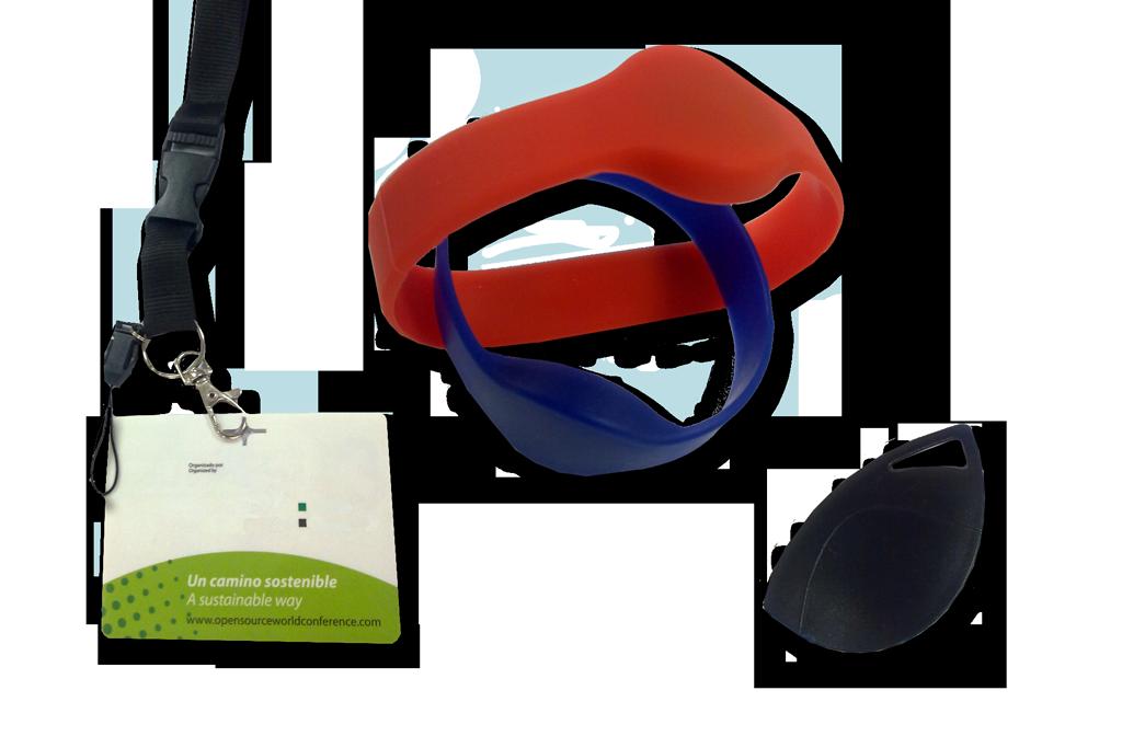 accesorios para las tarjetas de pvc